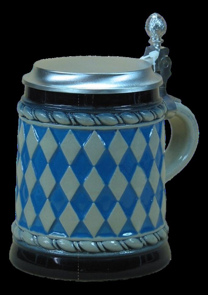 Bierseidel Bayerische Flagge