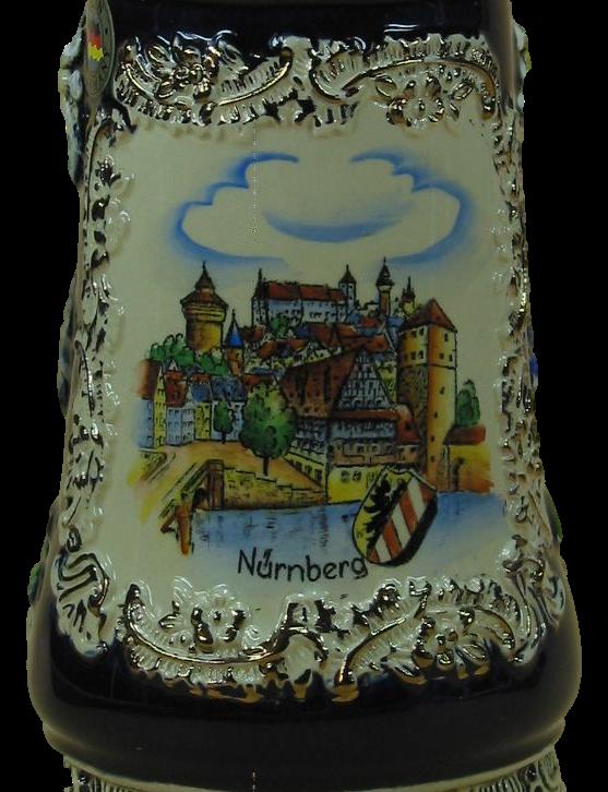Bierkrug Nürnberger Kaiserburg