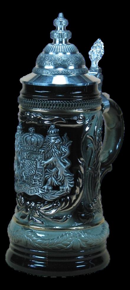 Bayerisches Wappen Schwarz