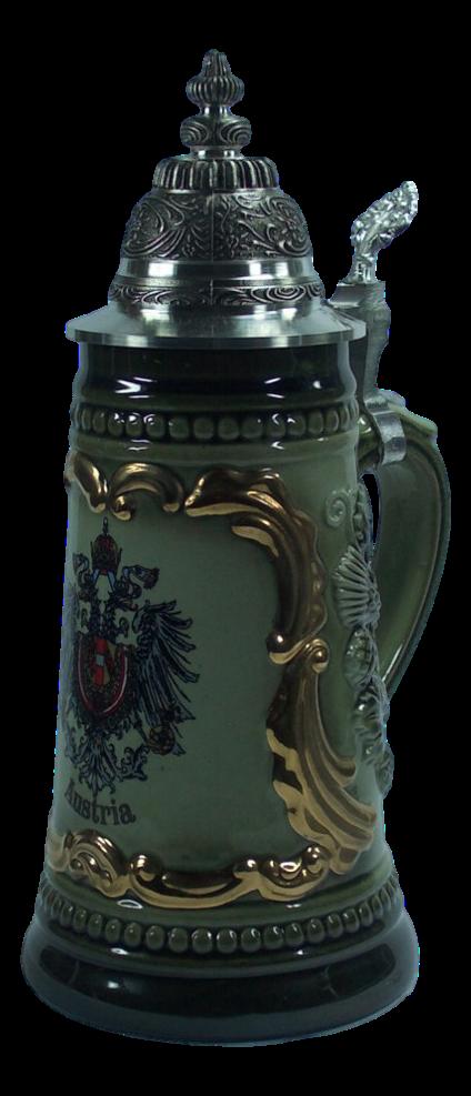 Bierkrug Bundesadler Gold