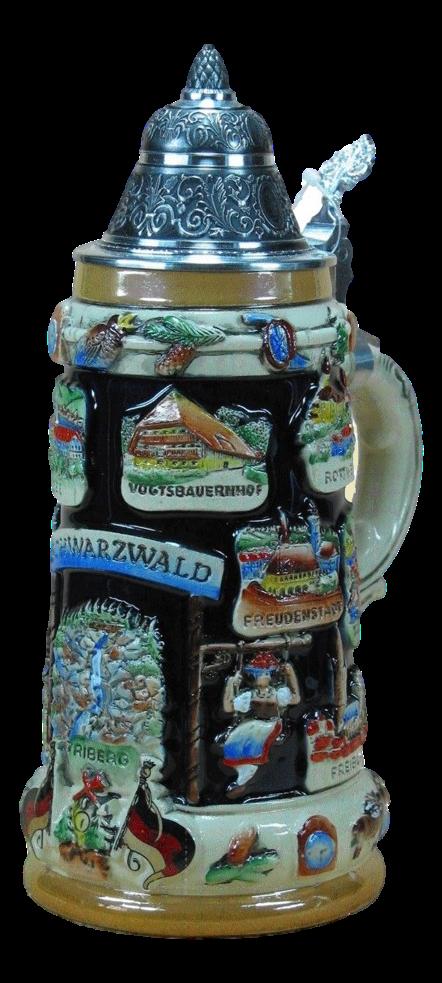 Bierkrug Schwarzwald