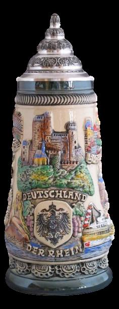 Bierkrug Der Rhein