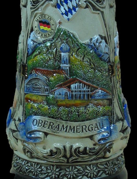 Bierkrug Oberammergau & Garmisch