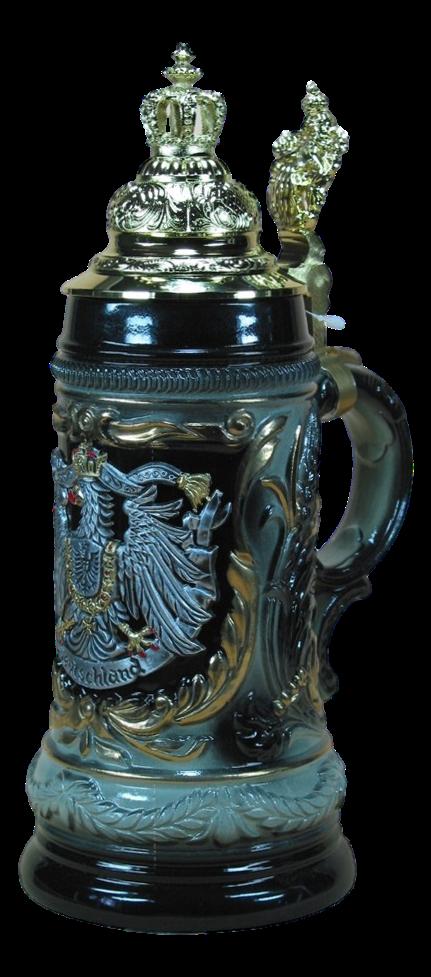 Bierkrug Goldene Krone