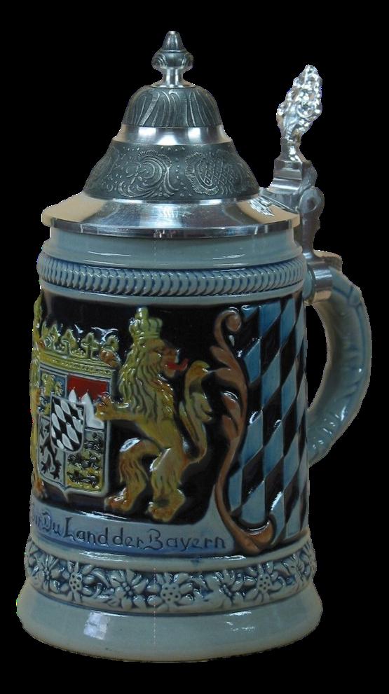 Bierkrug Bayerische Hymne